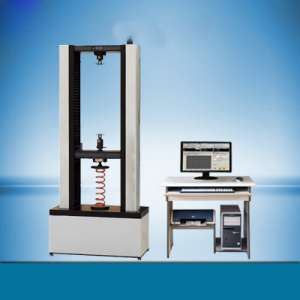 100kN碟簧压缩变形测试机